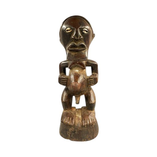 FETISH STATUETTE Songye / Luba-Kultur, Zaire DRC Erste Hälfte des 20. Jahrhunderts