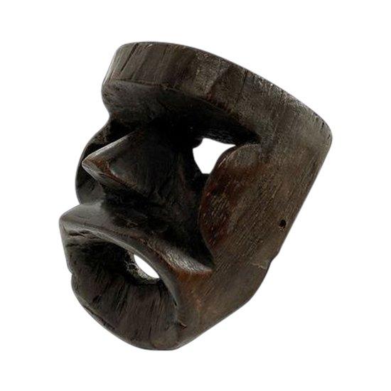 MASQUE anthropomorphe Culture Kran, Côte d'Ivoire Première moitié du XXème siècle