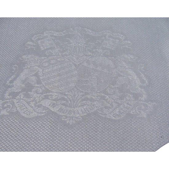 16 serviettes de table armoriées époque XIX e siècle