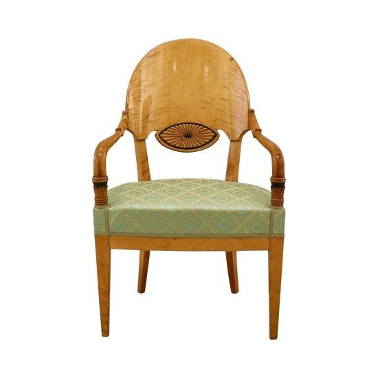 Möbel-Set im Empire-Stil. Russland des 19. Jahrhunderts.