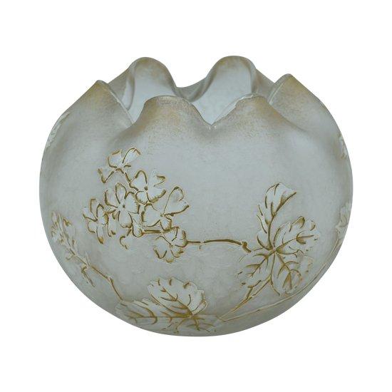 Legras - Montjoye – Vase boule forme Chinoise
