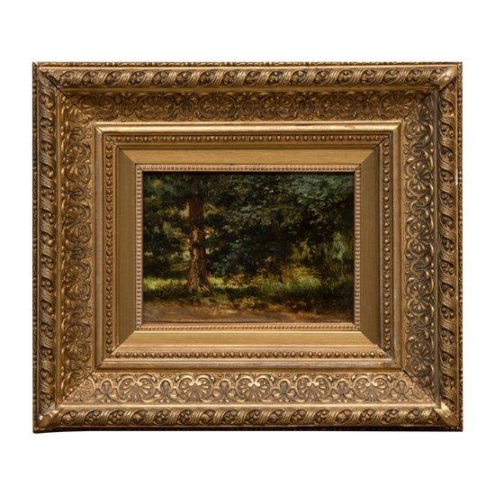 "Landscape ""Forest"" P. Bryullov (П. Брюллов)"