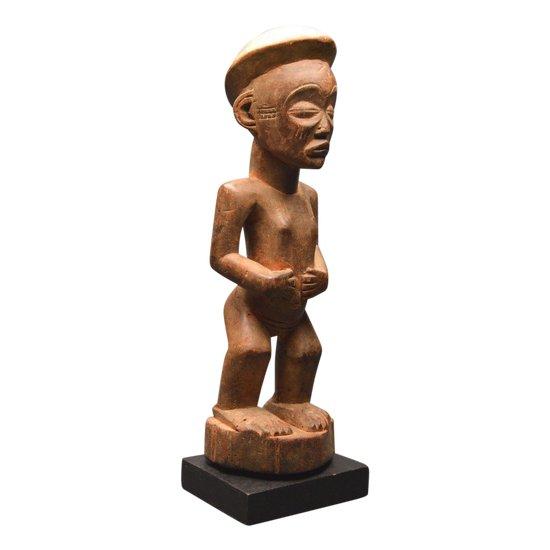 Weibliche Darstellung des Tshokwe-Stils / Demokratische Republik Kongo / Zweite Hälfte des 20. Jahrhunderts
